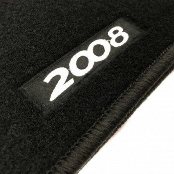 Peugeot 2008 Hybrid (2018 - current) tailored logo car mats