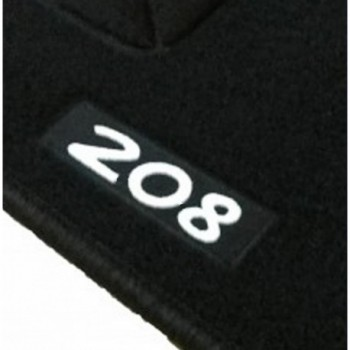 Peugeot 208 Hybrid tailored logo car mats