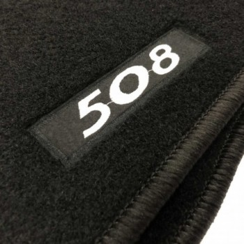 Peugeot 508 Sedan (2019 - current) tailored logo car mats