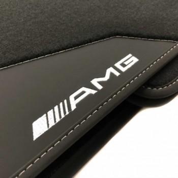 Mercedes W124 leather car mats