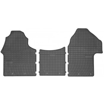 Floor mats, Mercedes Sprinter third generation (2018-present) Rubber