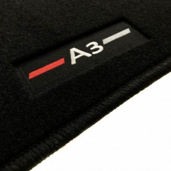 Audi A3 8P Hatchback (2003 - 2012) tailored logo car mats