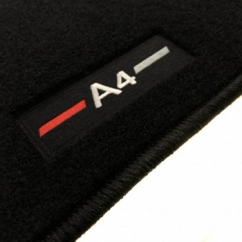 Audi A4 B6 Sedán (2001 - 2004) tailored logo car mats