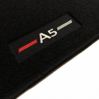 Audi A5 F57 Cabriolet (2017 - current) tailored logo car mats