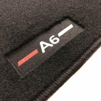 Audi A6 C6 Allroad Quattro (2006 - 2008) tailored logo car mats