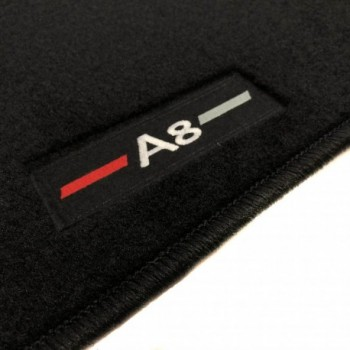 Audi A8 D5 (2017-current) tailored logo car mats