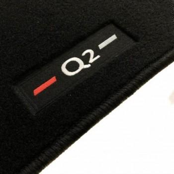Audi Q2 tailored logo car mats