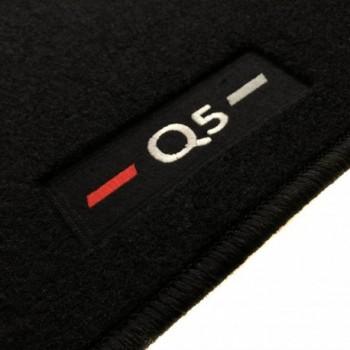 Audi Q5 FY (2017 - current) tailored logo car mats