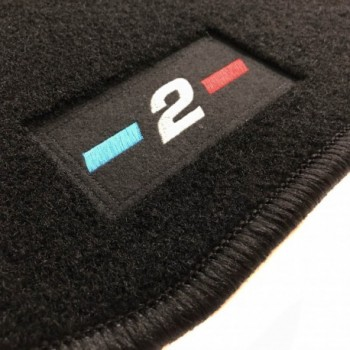 BMW 2 Series F23 Cabriolet (2014 - current) tailored logo car mats