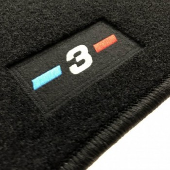BMW 3 Series E46 Cabriolet (2000 - 2007) tailored logo car mats
