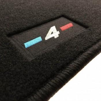 BMW 4 Series F36 Gran Coupé (2014 - current) tailored logo car mats