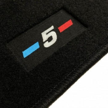 BMW 5 Series F07 Gran Turismo (2009 - 2017) tailored logo car mats