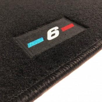 BMW 6 Series F06 Gran Coupé (2012 - current) tailored logo car mats