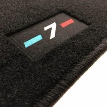 BMW 7 Series G11 short (2015-current) tailored logo car mats