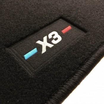BMW X3 E83 (2004 - 2010) tailored logo car mats