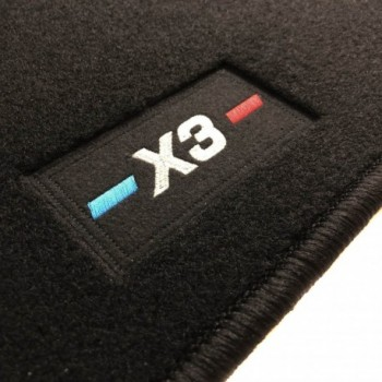 BMW X3 G01 (2017 - current) tailored logo car mats
