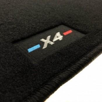 BMW X4 G02 (2018-current) tailored M-Performance car mats