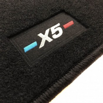 BMW X5 F15 (2013 - 2018) tailored logo car mats