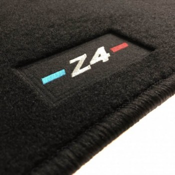 BMW Z4 E85 (2002 - 2009) tailored logo car mats