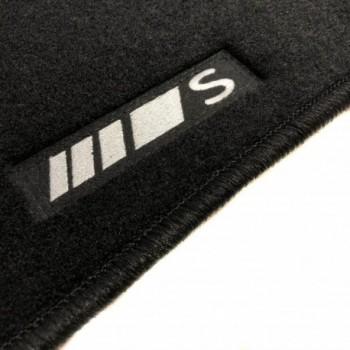Mercedes S-Class C217 Coupé (2014 - current) tailored logo car mats