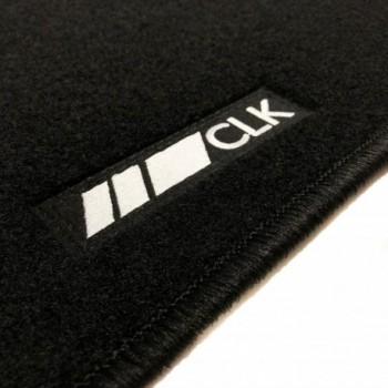 Mercedes CLK A209 Cabriolet (2003 - 2010) tailored logo car mats