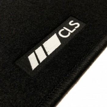 Mercedes CLS X218 touring (2012 - 2014) tailored logo car mats