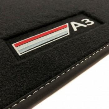 Audi A3 8PA Sportback (2004 - 2012) Velour logo car mats