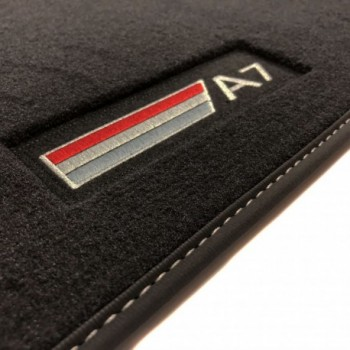 Audi A7 (2017-current) Velour S-line car mats