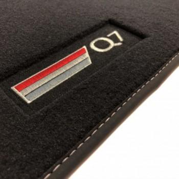 Audi Q7 4M 7 seats (2015 - current) Velour logo car mats
