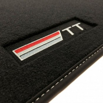 Audi TT 8S (2014 - current) Velour logo car mats