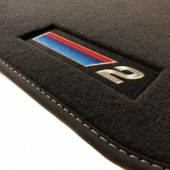 BMW 2 Series F23 Cabriolet (2014 - current) Velour M Competition car mats