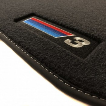BMW 3 Series E46 Cabriolet (2000 - 2007) Velour M Competition car mats