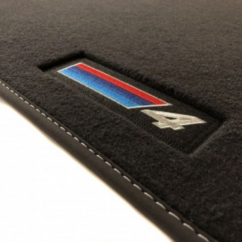 BMW 4 Series F33 Cabriolet (2014 - current) Velour M Competition car mats