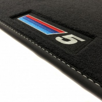 BMW 5 Series G30 Sedan (2017 - current) Velour M Competition car mats