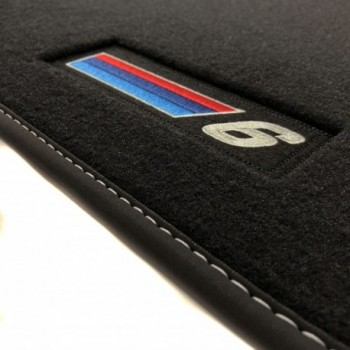 BMW 6 Series E64 Cabriolet (2003 - 2011) Velour M Competition car mats