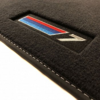 BMW 7 Series G12 long (2015-current) Velour M-Competition car mats