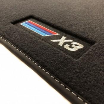 BMW X3 F25 (2010 - 2017) Velour M Competition car mats