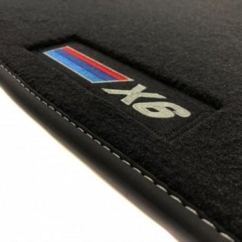 BMW X6 E71 (2008 - 2014) Velour M Competition car mats