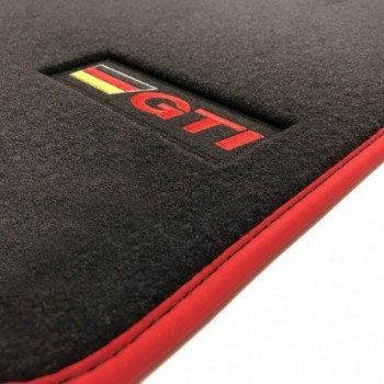 Volkswagen Touran (2006 - 2015) Velour GTI car mats