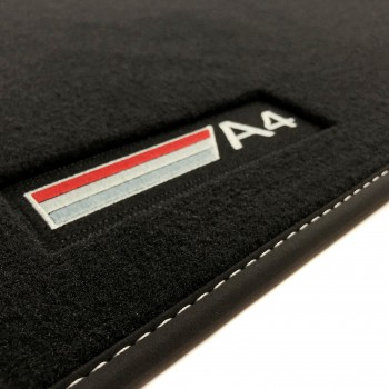 Audi RS4 B8 (2012 - 2015) Velour S-Line car mats