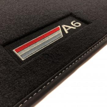 Audi S6 C6 Avant (2006 - 2010) Velour S-Line car mats
