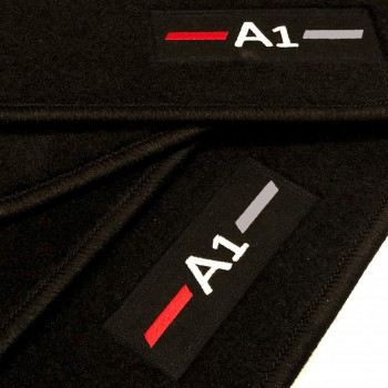 Audi A1 (2018 - current) tailored logo car mats