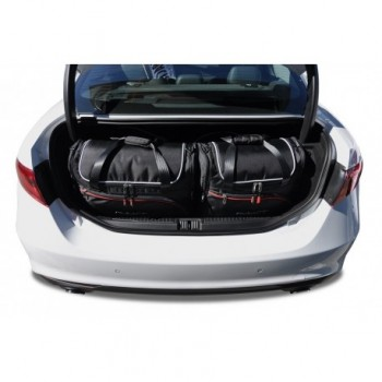 Tailored suitcase kit for Alfa Romeo Giulia