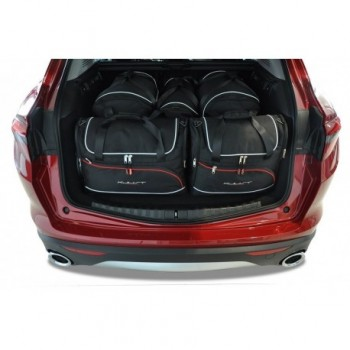 Tailored suitcase kit for Alfa Romeo Stelvio