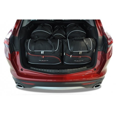 Tailored suitcase kit for Alfa Romeo Stelvio