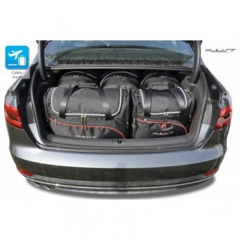 Tailored suitcase kit for Audi A4 B9 Sedan (2015 - 2018)