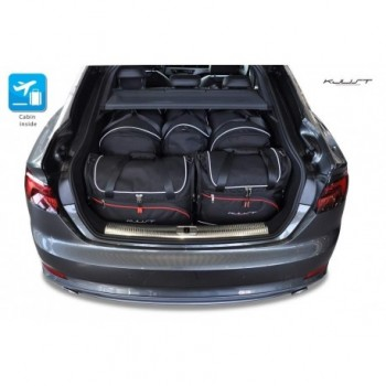 Tailored suitcase kit for Audi A5 F5A Sportback (2017 - Current)