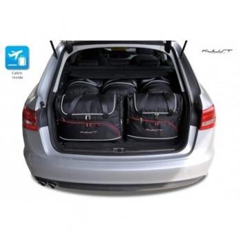 Tailored suitcase kit for Audi A6 C7 Allroad Quattro (2012 - 2018)