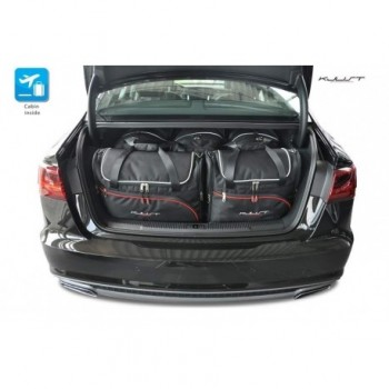 Tailored suitcase kit for Audi A6 C7 Sedan (2011 - 2018)