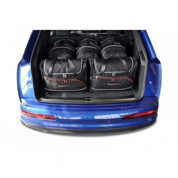 Tailored suitcase kit for Audi Q7 4M 5 seats (2015 - Current)